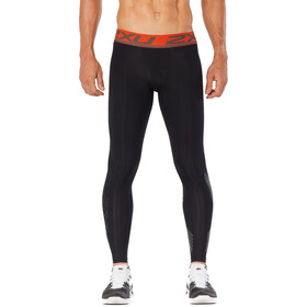 2XU Accelerate Kompressions-Tights Herren black/orange
